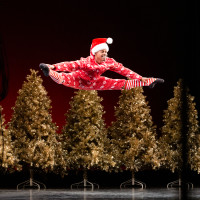 Houston Ballet: Nutcracker Sweets, HB Corps de Ballet dancer Naazir Muhammad