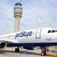 Jetblue airplane airline