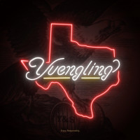 Yuengling Texas beer sign