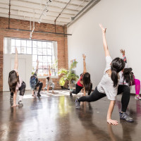Movement Loft, yoga class