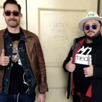 Capitol protestors, Nicholas DeCarlo (right)