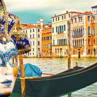 Toast To Life Venetian Carnival