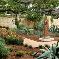 McNutt Sculpture Garden at Briscoe Museum in San Antonio