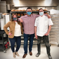 Jess DeSham Timmons Tasos Katsaounis Drew Gimma Bread Man Baking