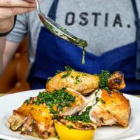 Ostia chicken with salsa verde