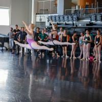 Texas Ballet Theater studio rehearsal