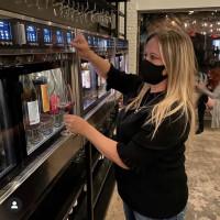 Roots wine bar self service