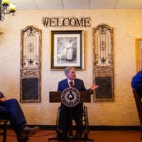 Texas Gov Greg Aboott Montelongo's Mexican Restaurant Lubbock