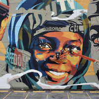 Zero Hunger Houston Mural