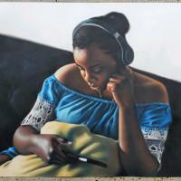 "Hooks-Epstein Galleries presents Kingsley Onyeiwu: ""WANTING"""
