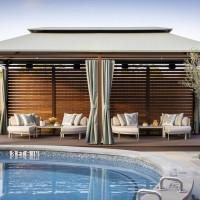Trellis spa pools garden 2021