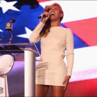 Beyonce, National Anthem, Super Bowl press conference
