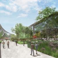 Apple campus rendering