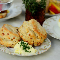 Sidesaddle Saloon biscuits