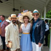 Bo's Place Kentucky Derby 2021 Houston Polo Club Fady Armanious Hallie Vanderhider Bill Baldwin