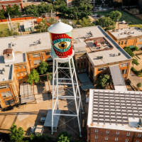 Shepard Fairey watertower
