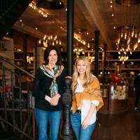 Elizabeth Kuper and Madelyn Houser