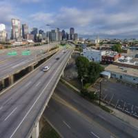 Dallas freeway, I-345