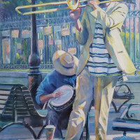 Tiemann Art Gallery presents Peggy Cook: A Silver Lining