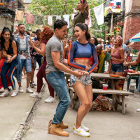 Anthony Ramos and Melissa Barrera in In the Heights