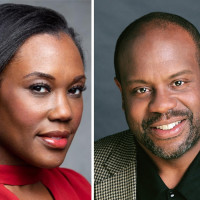 Kearstin Piper Brown and Kevin Deas