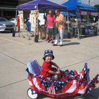 Farmers Market Fourth of July Holiday Family Day