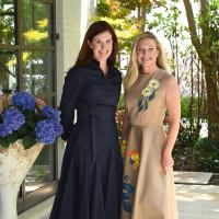 Anne Clayton Vroom and Katherine Perot Reeves
