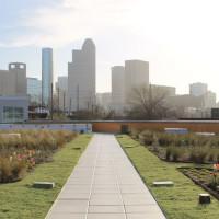 City of Houston green initiatives Carnegie Vanguard High School