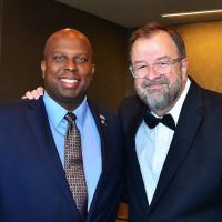 Donald Bowers and Dr. Bob Sanborn