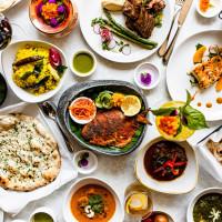 Mahesh's Kitchen dinner spread