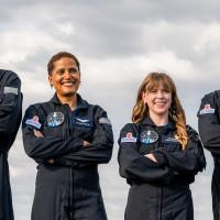 Inspiration 4 Space X crew