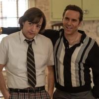Michael Gandolfini and Alessandro Nivola in The Many Saints of Newark