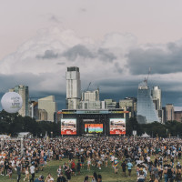 Austin skyline ACL Fest 2021