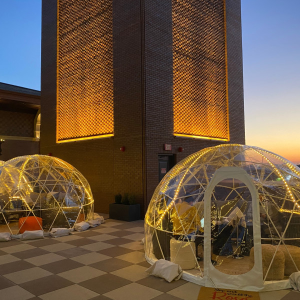 Rooftop igloos bubble up in this week's 5 most popular Dallas stories