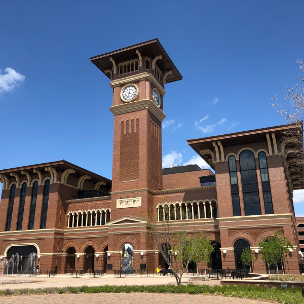 Trains are now rolling at historic Grapevine's new commuter rail stop