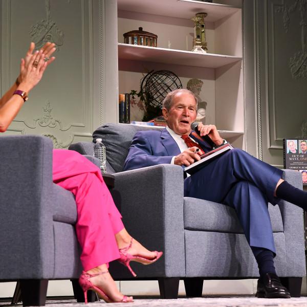 Former President Bush and Matthew McConaughey headline bookish bash