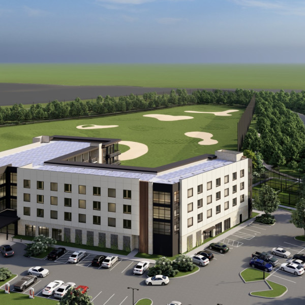 New boutique hotel in Arlington will come with its own golf course