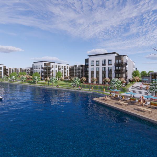 New lakefront west Houston mixed-use development set to break ground
