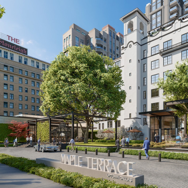 New development in Uptown Dallas will embrace beautiful old building