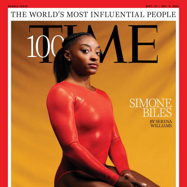 Simone Biles leaps onto list of Time's list most influential people