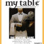 News-My Table magazine front Oct. 2009
