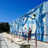 Arden Ward: Massive new mural flows into downtown Austin's reimagined Waterloo Park