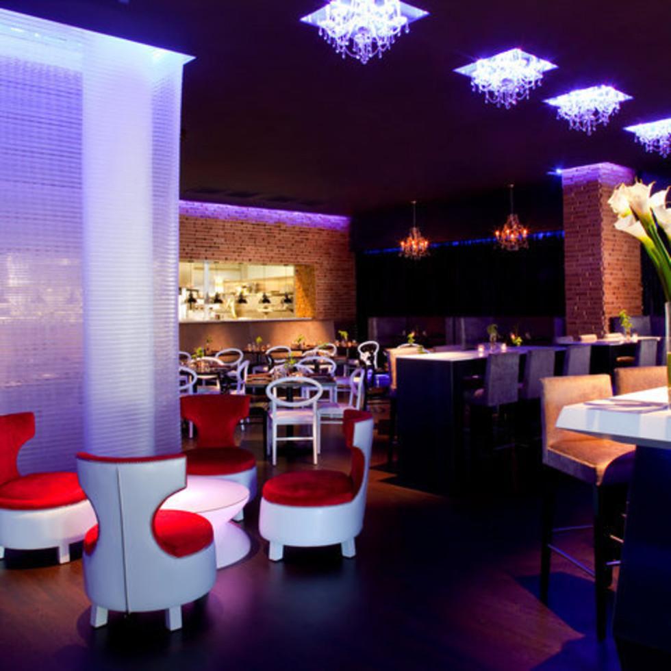 Dish Restaurant and Lounge interior