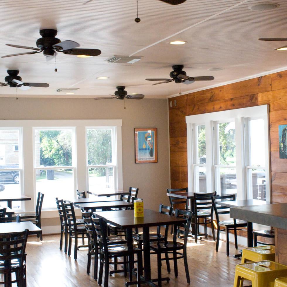 10 Good Dog restaurant preview November 2013 interior