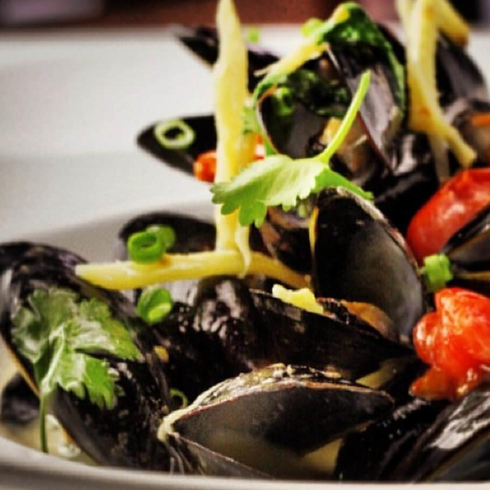 Ocean prime, mussels