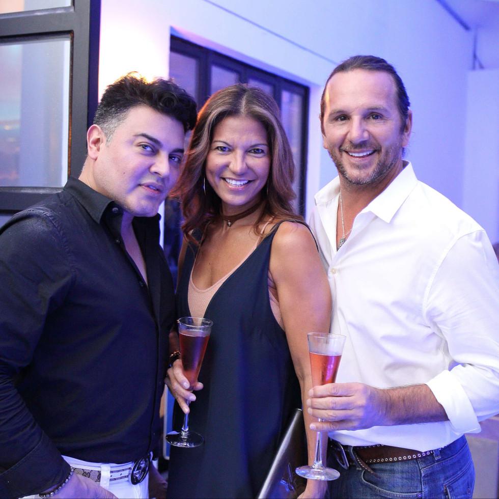 Bar Bleu opening, 6/16, Edward Sanchez, Selena Macky, John Tamborello