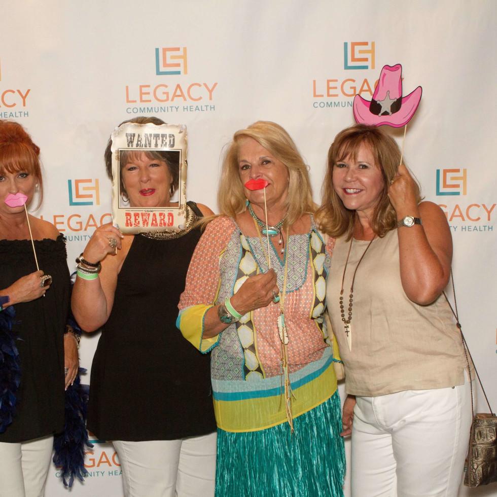 Legacy Mint Julep, July 2016, Sylvia Highfield, Margie Krause, Cookie Michaels, Cyndy Garza Roberts