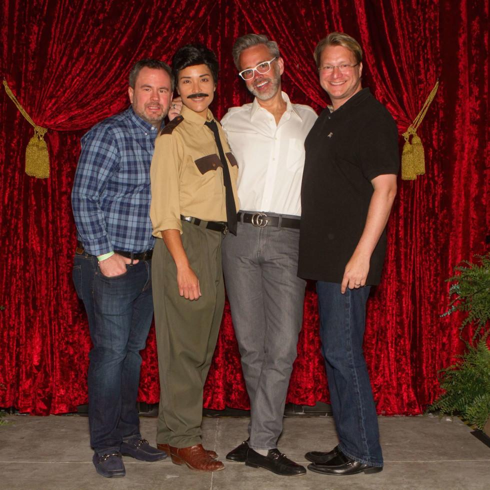 Legacy Mint Julep, July 2016, Bryan Hlavinka, Sheriff Ed Earl Dodd, Michael Pearce, Matt Burrus