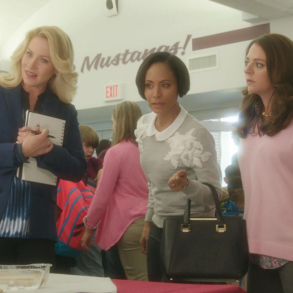 Christina Applegate, Jada Pinkett Smith, and Annie Mumolo in Bad Moms