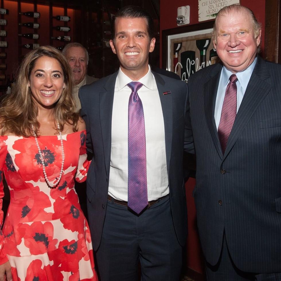Kristina Somerville, Donald Trump Jr., Paul Somerville